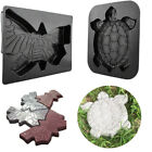 Turtle Stepping Stone Mold Concrete Cement Mould Tortoise Garden Path Anti Slip image