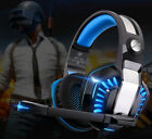 3.5mm Headset MIC LED Headphones High Quality Sound for Music Movie and De