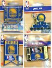 Warriors 2018 NBA Finals Pin Choice 4 Pins Golden State Conference 6-Time Champs on eBay