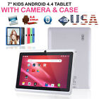 7 inch Android Tablet 4GB Quad Core 4.4 Dual Camera Wifi Bluetooth PAD USA STOCK