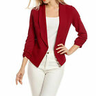 New Long Short Sleeve Slim Womens Ladies Blazer Jacket Formal Suit NJU Cardigan <br/> Sealed Brand New - Worldwide Shipping