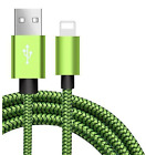 Braided USB Lightning Charger Cable for iPhone 6 7 8 Plus XR Xs Max 3ft 6ft 10ft