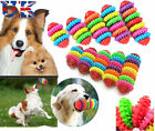 DOG TOY PUPPY DENTAL SOFT RUBBER TEETHING BITING PLAY PET CHEW RING HEALTHY GUMS