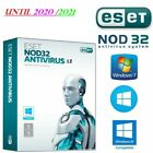 ESET nod32 antivirus v12 2019 32/64Bits with serial license key 2020 2021 2022