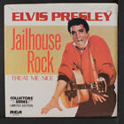 ELVIS PRESLEY: Jailhouse Rock / Treat Me Nice 45 (PS, collectors' series)