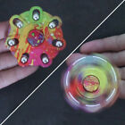 Camouflage Graffiti Hand Spinner Fingertip Gyro Desk Toy Kids Adults Gift Code