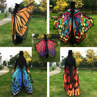 New Butterfly Wing Tapestry Shawl Bikini Cover Up Beach Towel Yoga Mat Sanwood