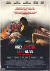 ONLY LOVERS LEFT ALIVE 2013 Jim Jarmusch, Tilda Swinton – Movie Poster Film Art