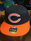 Chicago Bears NFL 210 Fitted Flat Bill Brim 2-Tone Football Cap Hat Team Apparel $18.99 USD on eBay