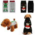 Dog Sweater Ugly Clown Valentine Small Large Xmas Pet Puppy Cat Jumper Clothes