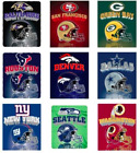 "*BRAND NEW* NFL FLEECE BLANKETS 50x60"" $18.99 USD on eBay"