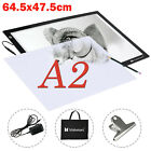 A2 A3 LED Drawing Board Tracing Light Box Table Stencil Artist  Christmas Gifts