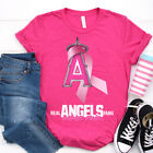 Los Angeles Angels Real Fan Wear Pink Classic Pink T Shirt. Best Gift For Fans. on Ebay