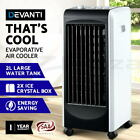 Devanti Evaporative Air Cooler Portable Fan Water Cooling Fans Conditioner Home