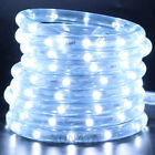 220V 240V LED Rope Tube String Fairy Lights Xmas  Outdoor Garden Lamp + UK Plug