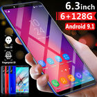 S10+ 6.5'' Android 9.1 Double-sided Curved Screen 4g Smart Mobile Phone 6+128gb