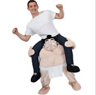 Shoulder Carry Me Back Ride On Unisex Adult Party Costume Outfit Sumo Wrestler