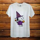 Snoopy Dog Halloween Costume Peanuts Design T-Shirt Men Unisex Women Fitted image