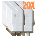 Lot Samsung S10 S9 Note 8 9 Adaptive Fast Charging USB Wall Charger Adapter Bulk