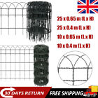 Garden Border Fence Lawn Edging Protective PVC Coated Wire 25/10M 4 Sizes