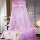 Lace Bed Mosquito Netting Mesh Canopy Princess Round Dome Bedding Net Tent Child image