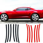 6pc Side Vent Stripe Decal Insert for 2010 2011 2012 2013 2014 2015 Chevy Camaro