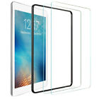 """Tempered Glass Screen Protector For Apple iPad 7th 10.2"""" 6th 5th 234 Air Pro 9.7"""