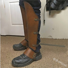 Medieval Men Shoe Covers Armor Leg Protector Knight Rivet Cosplay Accessory