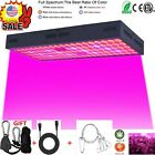 5000W 100 LED Grow Lights Panel Lamp 100% Full Spectrum Hydroponic Plant Growing. Buy it now for 45.77