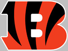 Cincinnati Bengals Logo Decal Sticker Choose Size 3M LAMINATED BUY 3 GET 1 FREE $16.95 USD on eBay