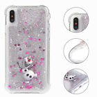 Glittering Disney Pattern Quicksand Soft Phone Case For iPhone 11 Pro Max 5s 6 8