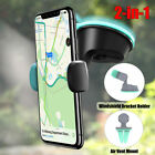 360 Rotatable Car Windscreen Suction Cup Mount Cell Phone Holder Bracket Stand