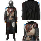 Star Wars Mandalorian Cosplay Costume Halloween Male Outfit Suit Mask Fullset $135.0 USD on eBay