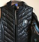 New Indiana Pacers Women's Size Small Packable Hooded Down Jacket Sleeveless Zip on eBay