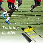 6812 Rung Agility Speed Ladder Soccer Football Fitness Feet Training Equipment