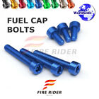 FRW 7Color Fuel Cap Bolts Set For Triumph Speed Four 02-06 02 03 04 05 06