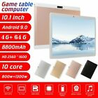 """10.1"""" Tablet Pc Hd Android 9.0 4g+64g 10-core Google Wifi Dual Camera Phablet"""