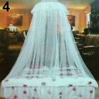 Lace Insect Mosquito Net Round Dome Bed Canopy Netting Curtain Bedding Sanwood image