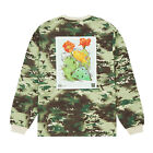 Mens 10 Deep Keep Back L/S Tee Digital Camo