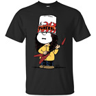 Peanutty Buckethead Charlie Brown Cosplays Buckethead Funny Black T-Shirt image
