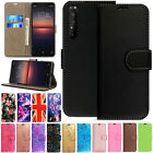 Used, Leather Wallet Book Flip Case Pouch For Sony xPeria Experia Mobile Phones for sale  Shipping to Nigeria