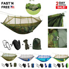 Camping Mosquito Net Hammock Tent Nylon Double Hanging Bed Garden Swing Chair