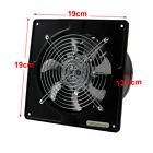"""4"""" 6"""" 8"""" Ventilation Extractor Exhaust Fan Blower Wall Mounted Kitche Bath 220V"""