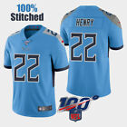 New Brand Men's Tennessee Titans Derrick Henry #22 Light Blue New Game Jersey HQ $52.99 USD on eBay