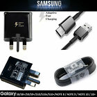 Genuine Samsung Galaxy S8+ S9+ S10 Plus Note 9 10 20 Fast USB Charger Plug Cable
