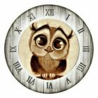 Diamond Painting Owl Design Cute Wall Clock Embroidery Pattern House Decorations