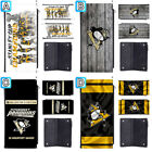 Pittsburgh Penguins Long Thin Leather Wallet Clutch Purse Card Holder $13.99 USD on eBay