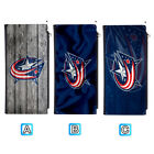 Columbus Blue Jackets Long Thin Leather Wallet Clutch Purse Card Holder $13.99 USD on eBay