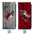 Arizona Coyotes Long Thin Leather Wallet Clutch Purse Card Holder $13.99 USD on eBay