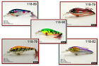 "Pack of 5 Akuna Sly Shad 3.5"" Shallow Diving Crankbait Fishing Lures"